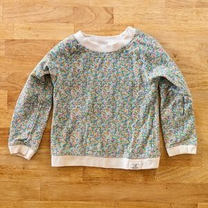 4t Carter's floral sweater
